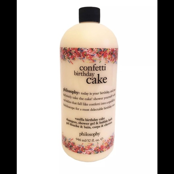 Philosophy Confetti Birthday Cake Shower Gel